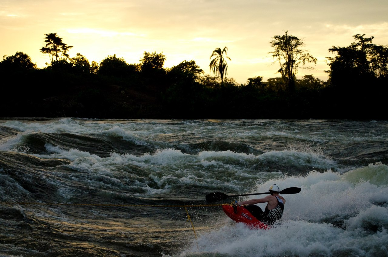 An evening session on Nile Special with Dylan Vrendenduin, White Nile, Uganda