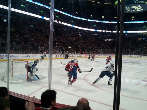 Let's go Habs!  (Yup - one week two games two cities (two original 6!))