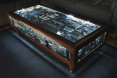 Beautiful and Geeky Computer Board Table