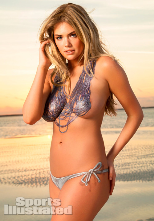 Kate Upton in body paint.  Is there really anything else that needs to be said?
