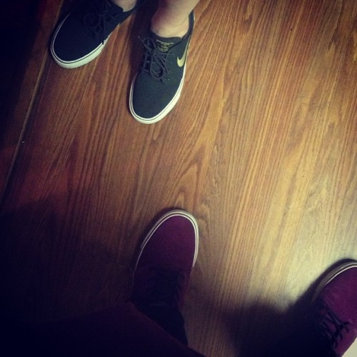 We on our j game @ingrid_hbic #janoski #nike #sb #hisandhers