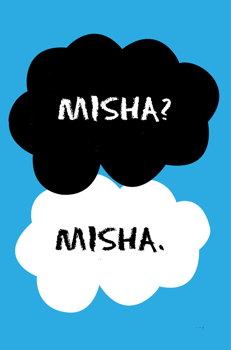 "pretendthisiscreative:  maybe ""misha"" can be our ""always"""