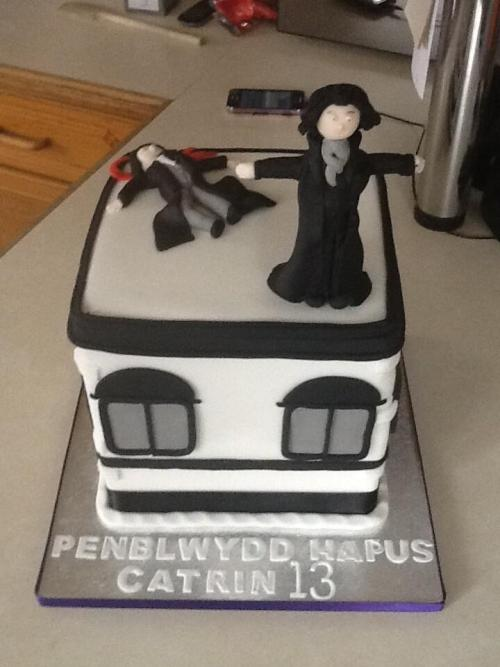We were tweeted this photo of a brilliant Sherlock inspired birthday cake yesterday by @MrsWalters2 which we just had to share. Have you made any Sherlock food related items? We'd love to see your photos. Tag your posts with #Sherlock Food so we can spot them.