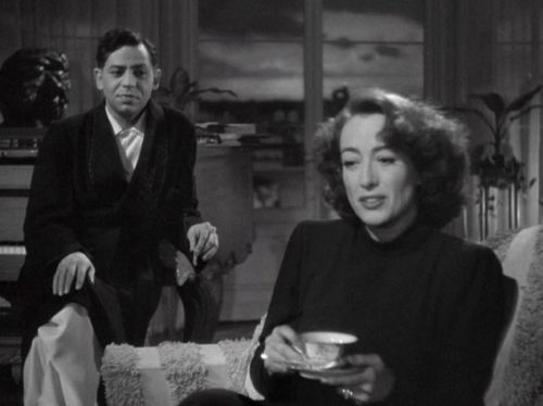 (via Coffee coffee and more coffee: Coffee Break) Oscar Levant and Joan Crawford in Humoresque (Jean Negulesco - 1946)