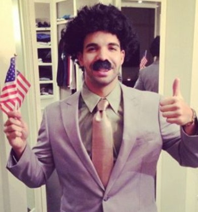 Day 1/20 : Fav Drake Picture: His 2012 Halloween costume!
