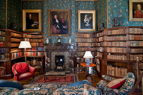 littledallilasbookshelf:  English Country House Libraries I want all of them :)
