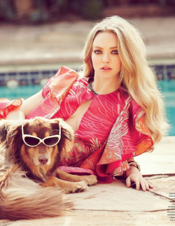 shawnandthemachine:  fashion-and-seek:  Amanda Seyfried for Tatler Russia April 2013   I find her absolutely gorgeous.