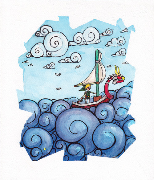 Link at Sea! by ~Cristinaart80