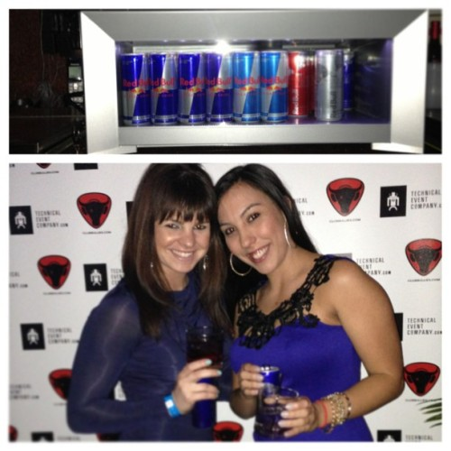 #redbull beauties @danicote @desireedj