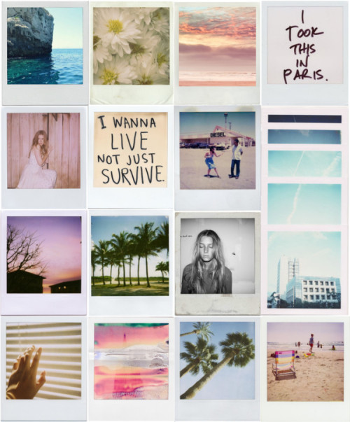 weekxnd:  polaroids are so cool