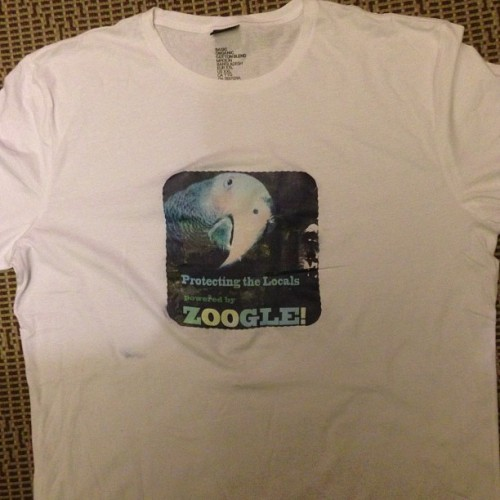 Zoogle t-shirt featuring Quincy  (at Central Park - Turtle Pond)