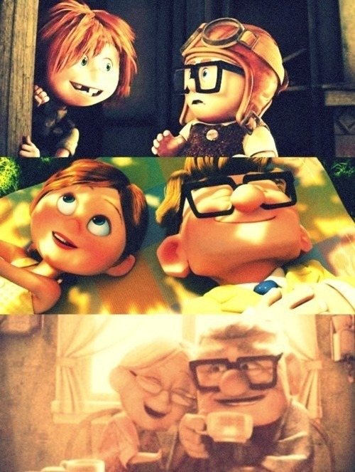 grimcrowen:  I am lucky to have someone to grow old with :)