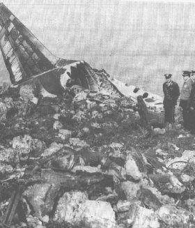 This Day In Wrecks 1972: Alitalia Flight 112, bound for Palermo out of Rome, crashes into Mt. Longa while in contact with Palermo approach. The DC-8 breaks up on the slope, killing all 115 people on board. Pilot error is cited as the cause. A video with color footage of the wreckage can be found here, but it also contains graphic imagery that is not the focus of FYW, so click with caution. Some conspiracy theories about bombs are also discussed here (there were accusations of Mafia involvement), if you can read Italian.