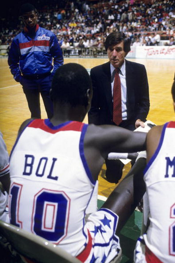 BACK IN THE DAY |2/26/87| Manute Bol blocked 15 shots in a 100-94 win over the Indiana Pacers.