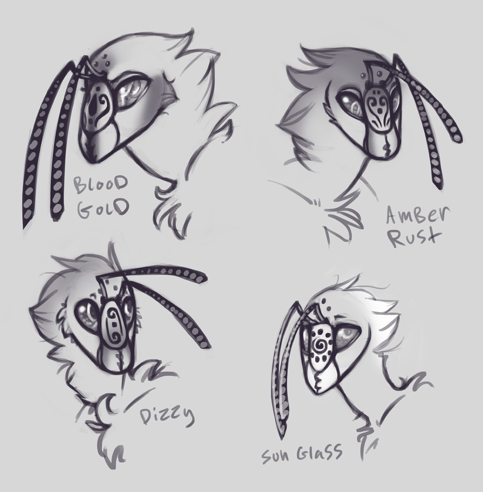 More beeees. Slowly redesigning everyone.