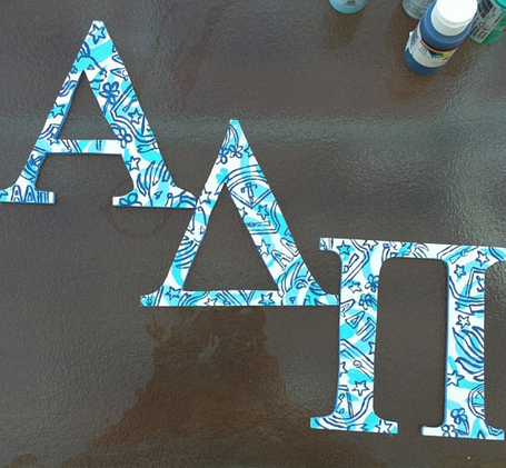 sororitysugar:  cute & crafty ΑΔΠ ❉