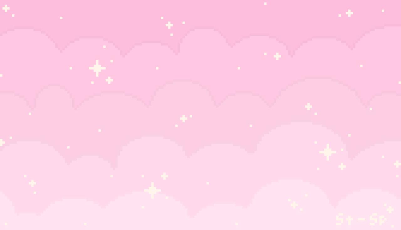 Spaced Out Pixel Art Star Clusters F2u Desktop Background Or Tumblr