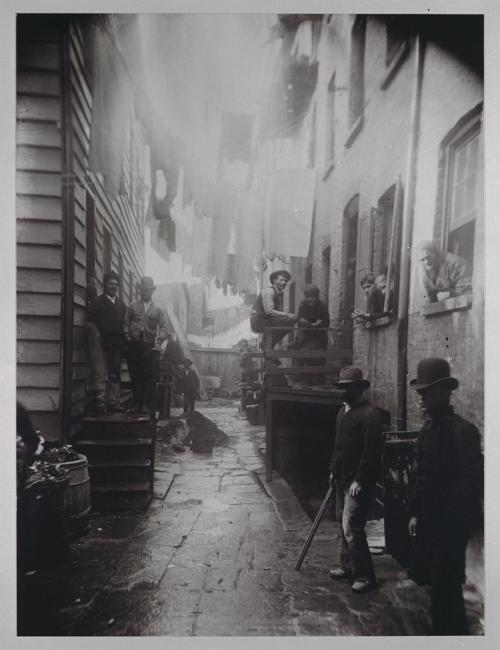 New York, 1880s. Think I'll just stick to the main street.