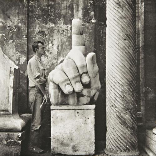 Cy Twombly + Relics, Rome,  No. 5 photo by Robert Rauschenberg, 1952