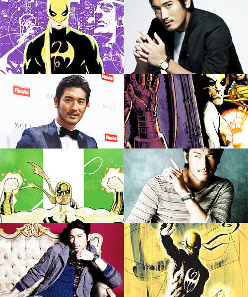 MARVEL FANCAST   Godfrey Gao » Danny Rand