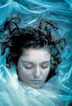 "joeyx:  On this day in 1989: Laura Palmer was found washed up on the shore, wrapped in plastic; she was 17. Today's crybaby: Deputy Andy Today's book club: THE SECRET DIARY OF LAURA PALMER Today's quote: ""Sometimes I think life would be so much easier if we didn't have to think about being boys or girls or men or women or old or young, fat or thin… if we could all just be certain we were the same. We might be bored, but the danger of life and of living would be gone."" Today's ill-advised tattoo: http://tinyurl.com/7foa8q8"