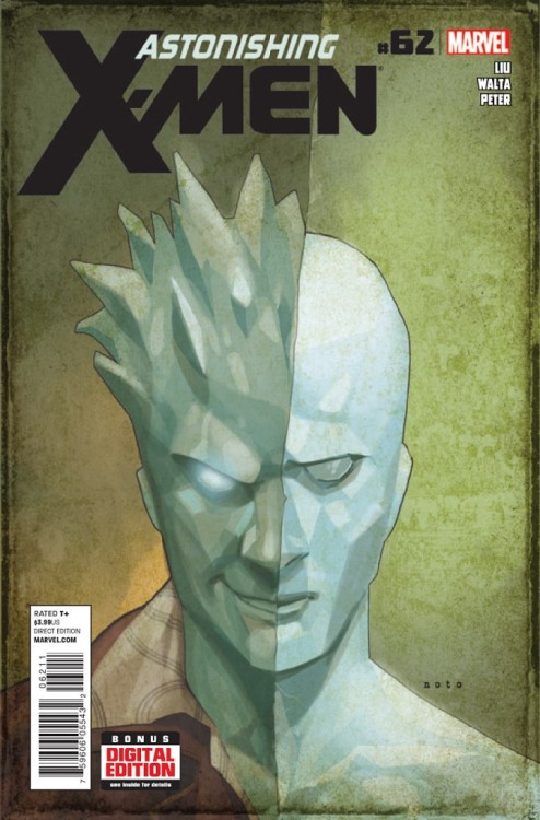 Astonishing X-Men v3 #62, July 2013, written by Marjorie Liu, penciled by Gabriel Hernandez Walta