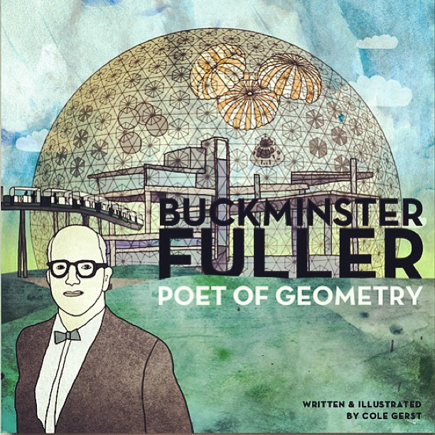 I'm making a book! Check it out on @kickstarter @buckminsterfuller