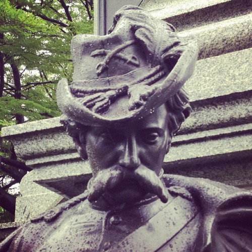 hodgman:  I am angry at the Civil War monument industry for filling our heads with impossible mustache ideals. Thanks graveyard. Now I have mustache dysmorphia.