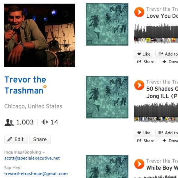 1000 followers on soundcloud and counting!