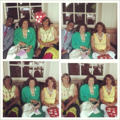 Happy Mother's Day to my beautiful mother, grandmother, and aunt! Thank you guys for all the love, support, and wisdom you've given me thus far. Love you!