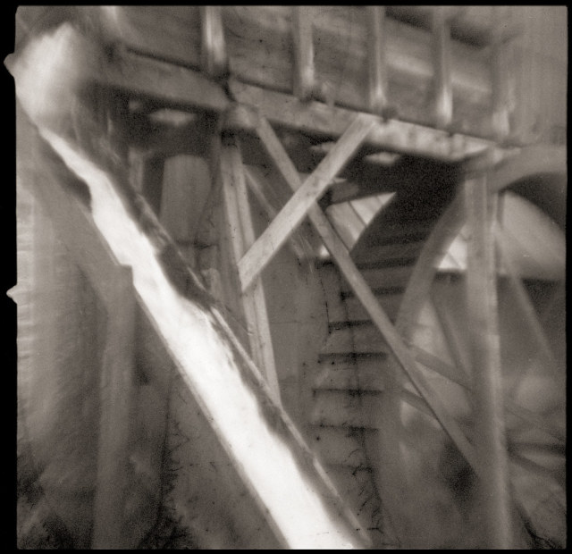 Wades MillA working gristmill near Raphine. On Flickr © Eben Ostby June 17, 2021 at 10:37AM. All rights reserved #bw#film#agfarapid#flippedlens#agfaisoflashrapid#virginia#mill#gristmill#waterwheel#industri
