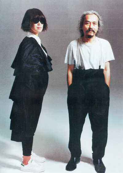 Rei Kawakubo and Yohji Yamamoto for『PAPER』Magazine, September 2008Recognised instantly in the fashion industry a year after their debut collection(s) in 1982, these two designers are known for their ideas of beauty which included intentional flaws, a monochrmomatic palette, extreme proportions, drapery, asymmetry and gender neutral styles.