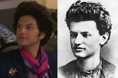 Today will always be the day I realized that Jean Ralphio and Leon Trotsky are the same person.