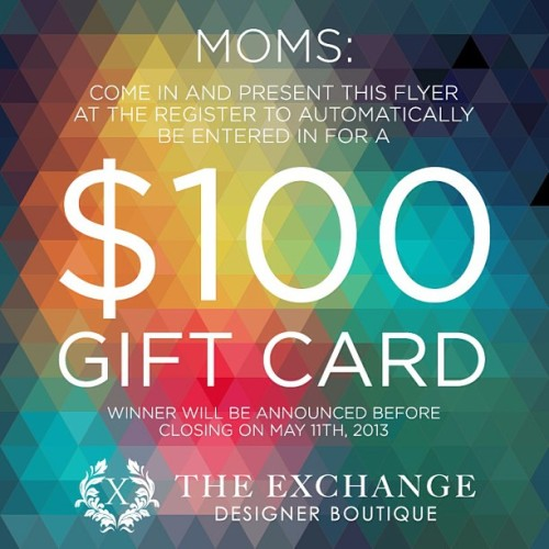 Happy Mother's Day! 💐 #lubbock #contest #mothersday #texas #flyer  (at The Exchange)