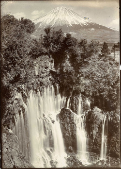 The Shira Waterfall by The National Archives UK on Flickr.