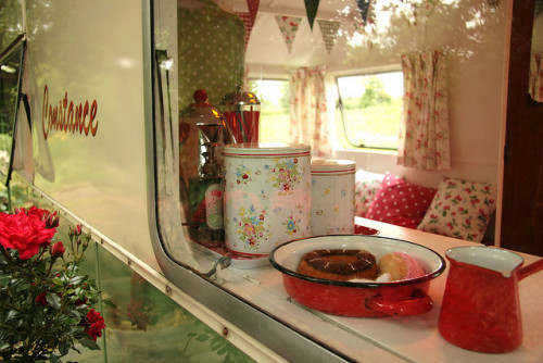 caravansandcampervans:  Through the window on Flickr.