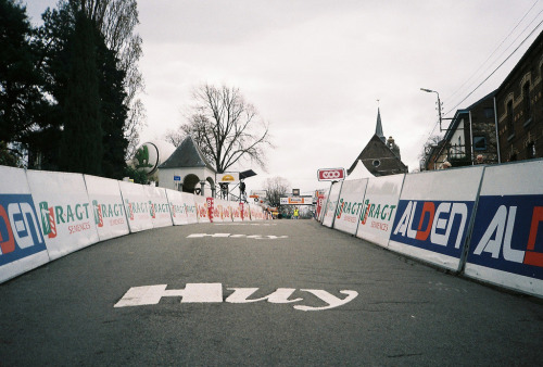 Mur de Huy - the final run-in (by knautia) I had total shivers, standing on the Mur de Huy before the Flèche Wallonne!  Thanks so much team Hitec for taking me with them - more of my photos on flickr
