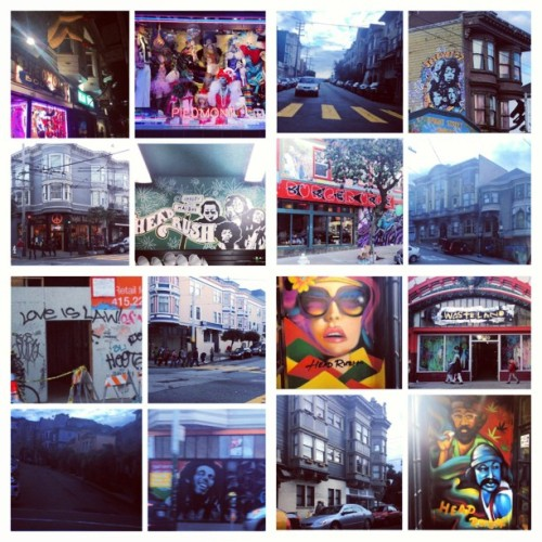 Walking Haight St. #Cali #SanFrancisco #theCITY 😘🌉👠🌆💛