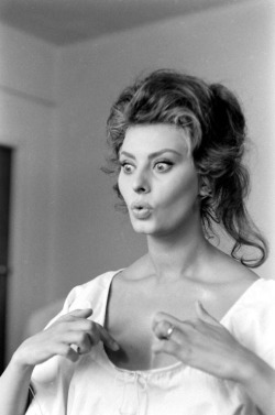 theswinginsixties:  Sophia Loren photographed by Alfred Eisenstadt.   This is the type of woman I want to be.