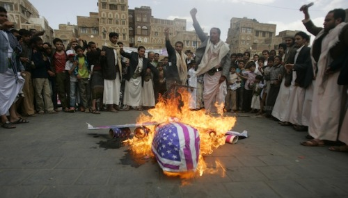 This Yemeni Man Loves America, Hates al-Qaeda, and Says Drone Strikes Make Them Stronger Farea al-Muslimi, a 22-year-old, described the time a Hellfire missile hit his home village in testimony before a U.S. Senate committee.