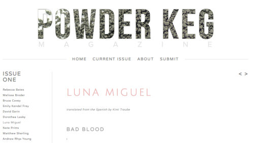 animalitoinexpresivo:  <3 <3 <3 <3 happiness <3 <3 <3 <3 and bad blood http://www.powderkegmagazine.com/issue-one thank you very much, Zoe & Kimi