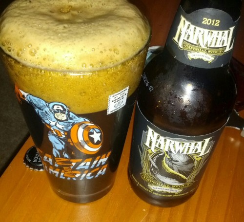 Sierra Nevada's Narwhal Imperial Stout is rich and deep. Coffee and cocoa are the dominant flavors, but maltiness shines through. Sierra Nevada continues to impress regardless of their growth and expansion. They just make great beer.