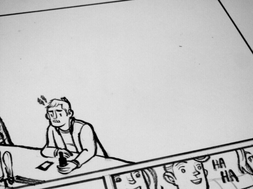 working on comics / working on my life