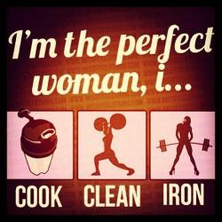 train-drive-eat-sleep-repeat:  The perfect woman <3