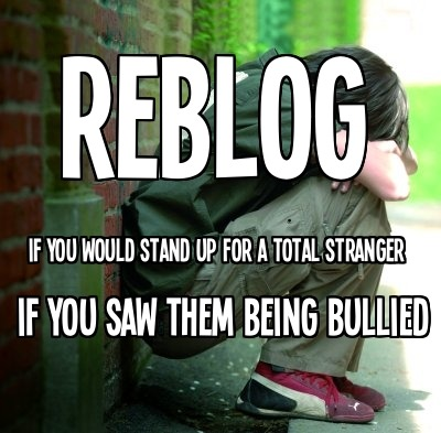 dont let bullying go unanswered