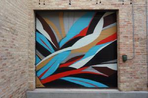Ruben Aguirre, Jr. commissioned piece by Chicago Urban Art Society (CUAS) for the Ada Street Restaurant fundraiser, 2012.