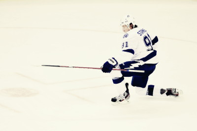 fuckyeahsportnight:  On April 7, 2012, Tampa Bay Lightning center Steven Stamkos scored his 60th goal of the season. He became the second player in the last 15 years to reach this milestone.