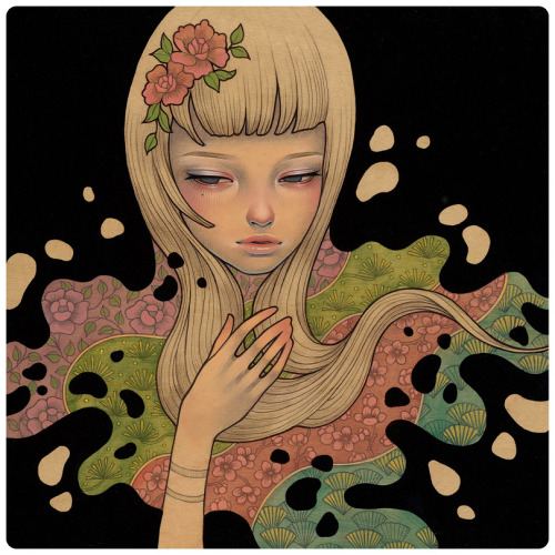 Lost in Thought by Audrey Kawasaki