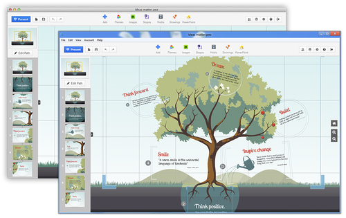 3 presentation templates that are not powerpoint center for prezi is possibly the most popular alternative to powerpoint its easy to see why when you check out the variety of pre made templates they offer and the toneelgroepblik Image collections