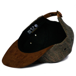 merkwoodclothing:  MerkWood 5 panel cap Tweed with brown suede peek Leather front logo Leather rear strap with brass buckle One size fits allGET A MERKWOOD 5 PANEL AT: http://merkwood.bigcartel.com/product/merkwood-tweed-5-panel-hat